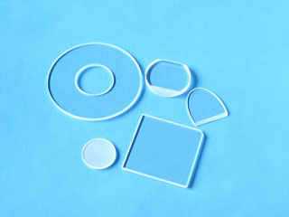 Various shapes for optical windows